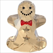 Swarovski Rocking Gingerbread Man