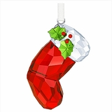 (SOLD OUT) Swarovski Santa's Stocking Ornament