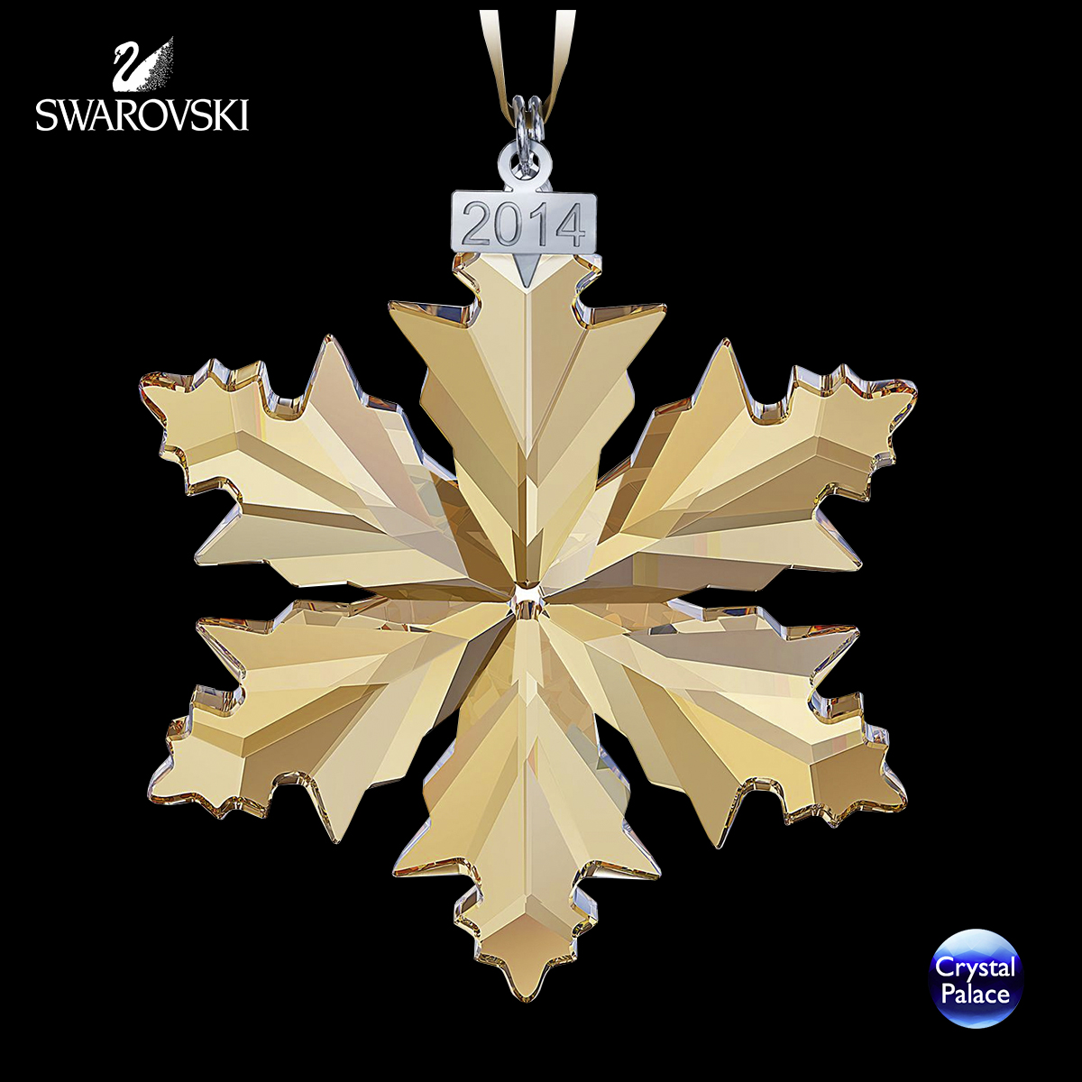 Swarovski SCS Christmas Ornament, Annual Edition 2014
