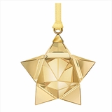 (SOLD OUT) Star Ornament, Gold Tone, small
