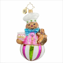 (SOLD OUT) Sweet Treat Baker  Radko Ornament