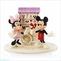 Sweet Treats with Mickey and Minnie Figurine by Lenox