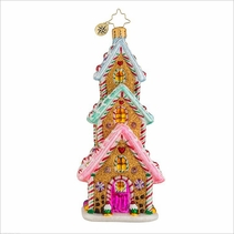 (SOLD OUT) Tasty Triple Decker  Radko Ornament