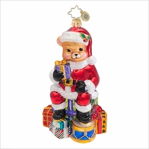 Teddy Claus Radko  Ornament
