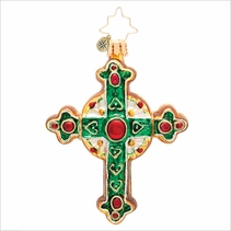 (SOLD OUT) Traditional Rood Gem Radko Christmas Ornament