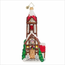 Valley High Church  Radko Ornament