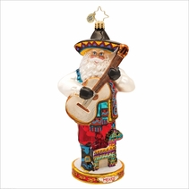 Viva Mexico Radko  Christmas Ornament
