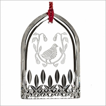 (SOLD OUT) Waterford 12 Days of Christmas Lismore Partridge Ornament