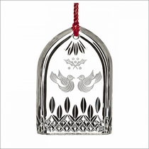 (SOLD OUT) Waterford 12 Days of Christmas Lismore Two Turtle Doves Ornament