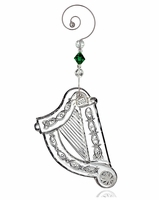 Waterford 2013 Harp Christmas Ornament