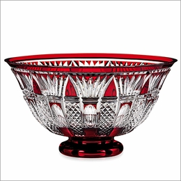 Waterford 2015 Times Square Red Cased Bowl