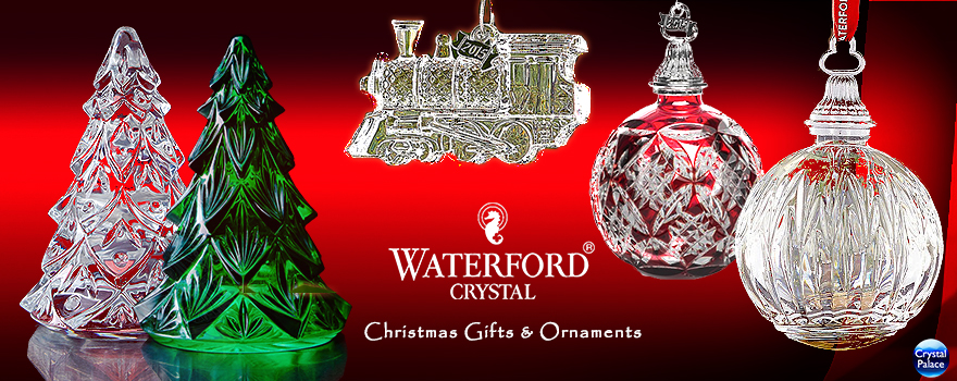 Waterford Crystal Christmas Ornaments & Gifts