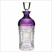 Waterford Crystal Mixology Circon Purple Decanter