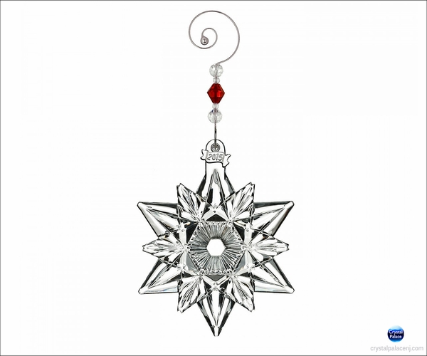 Waterford Snow Crystal Pierced Christmas Ornament further Waterford Mini Cross Christmas Ornament besides Waterford Nativity Holy Family Christmas Ornament furthermore 2015 Waterford Icicle Christmas Ornament 2nd Edition likewise 2015 Waterford Icicle Christmas Ornament 2nd Edition. on waterford crystal christmas tree sculpture html