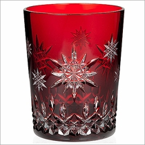 """2011 Waterford Snowflake Wishes  """"Wishes for Joy"""" Prestige Edition Ruby DOF"""