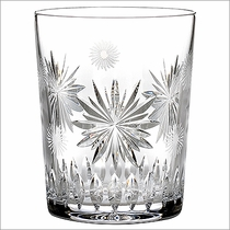 """2012 Waterford Snowflake Wishes  """"Wishes For Courage"""" Double Old Fashioned"""