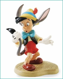 (SOLD OUT) WDCC Pinocchio A Terrifying Tail