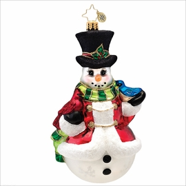 (SOLD OUT) Winter's Trill Radko Christmas Ornament