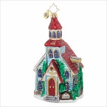 Winter Worship  Radko Ornament
