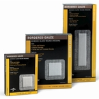Bordered Gauze Pad Dressings, Medline, Various Sizes