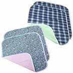 "CareFor Deluxe Chair Pads Washable Waterproof 18""x18"" Pack of 2"