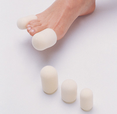 Cushioned Foam Tip Toe Caps