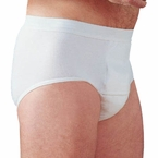 HealthDri Men's Heavy Incontinence Washable Cotton Underwear by Salk