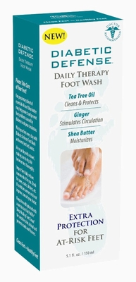 PediFix Diabetic Defense Daily Therapy Foot Wash, 5.1 oz
