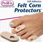 PediFix Felt Corn Protectors, 10 in a Pack