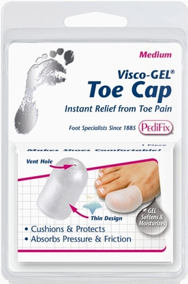 PediFix Visco-Gel All-Gel Toe Cap