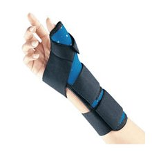 Thumb Spica Splint Wrist Support Brace, Soft Fit by FLA Orthopedics