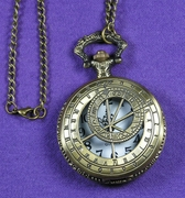 Doctor Who Cut-Out Pocket Watch