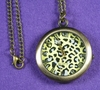 Leopard Open-Faced Pocket Watch