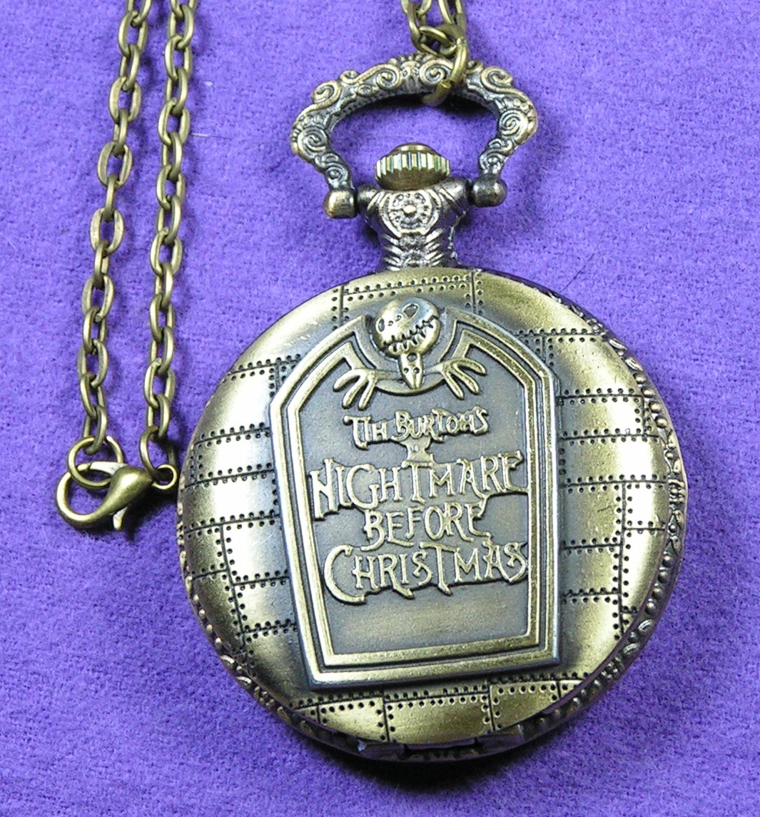 Nightmare Before Christmas Pocket Watch