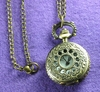 Open Floral Mini Pocket Watch