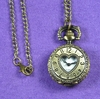 Open Heart Mini Pocket Watch