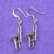 Trombone Earrings