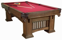 7 Foot Classic Mission Pool Table