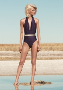 Amethyst Belted One Piece