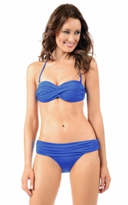 Envy Push Up Bandeau in Royal Blue