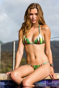 Jade Costa Rica Low Rise Chain Bottoms