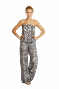 Justine Jumpsuit in India Shade Print