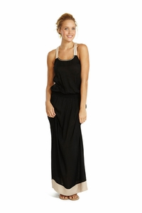 Lilly Maxi Dress in Black