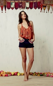 Pavana Cotton Gauze Shorts