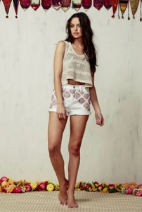 Shrine Cotton Shorts