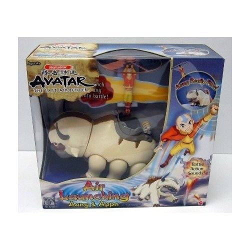 Avatar Toys: Avatar: The Last Airbender Air Launching Aang And Appa