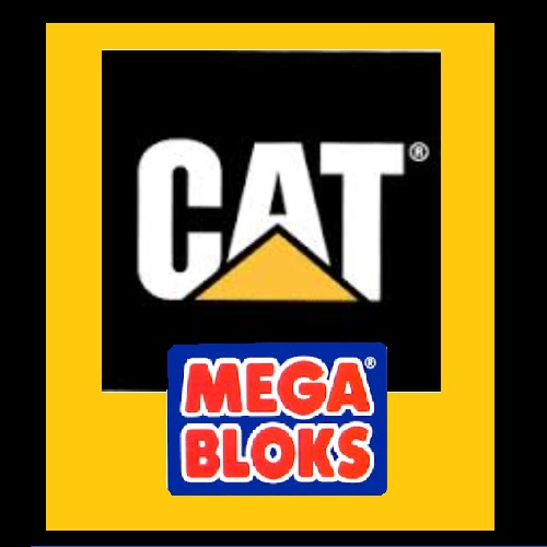 CAT logo for building block toys