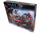 Halo Mega Bloks Exclusive Set #96866 UNSC Troop Transport Warthog