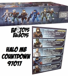 Halo Mega Bloks Set #97017 Countdown