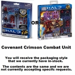 Halo Mega Bloks Set #97028 Crimson Covenant Combat Unit